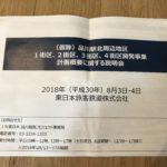 品川新駅開発(仮)住民説明会に潜入