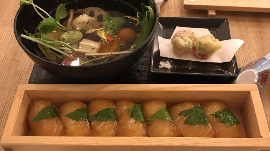 竹芝の鼈甲鮨でべっこう寿司を食べる。