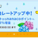 バッチョポイントを交換するならnanacoがオススメの理由。
