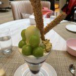 2021年もストリングスホテル東京インターコンチネンタルの「リュトモス」でパフェを食べる。